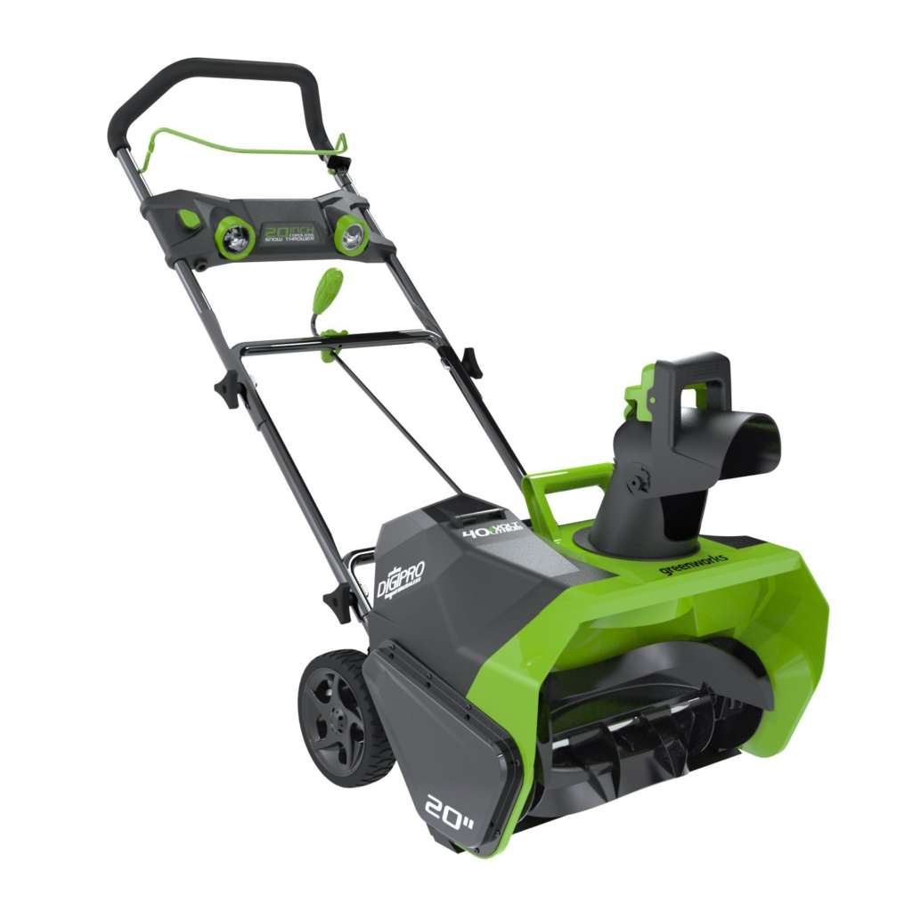 Green Works 26272 DigiPro G-MAX 40-volt Cordless Snow Thrower