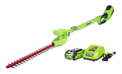 GreenWorks 22272 G-MAX Pole Hedge Trimmer