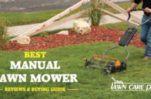 best manual lawn mower